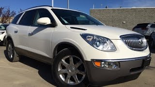 Pre Owned White 2010 Buick Enclave AWD CXL2 In Depth Review   Bonnyville Alberta
