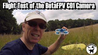 Flight test of the BetaFPV C01 Nano Camera