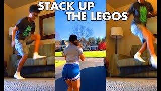 Stack Up The Legos (TikTok Challenge)