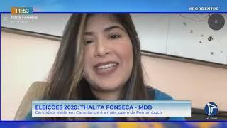 Aos 23 anos, empresária Talita Fonseca é a prefeita eleita mais jovem do Brasil