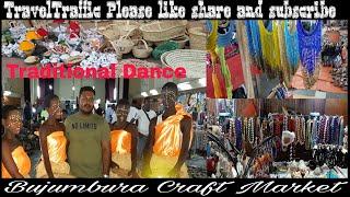 preview picture of video 'Burundi II Bujumbura II Bujumbura Craft Market II Friendly people II Local Shopping II Local dance'