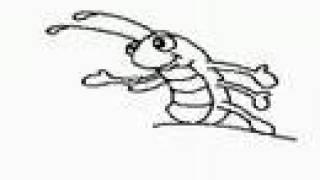 Desenhando a lagarta. LÁPIS MÁGICO / MAGIC PAINT - CLIP INFANTIL