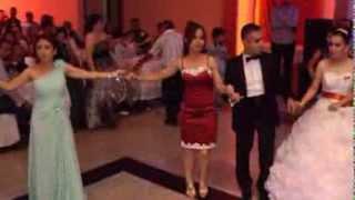 Damat Halayı Çılgın Düğün Zorbulunur İklima&Veysel Düğün Töreni 11,08,2013