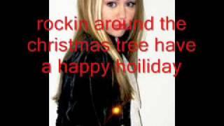 Hannah Montana-Rockin Around The Christmas Tree Song+Lyrics
