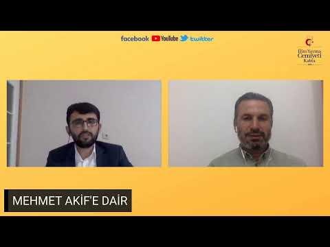 TARİHİN İZİNDE / MEHMET AKİF'E DAİR