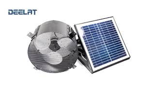 Solar Powered Exhaust Fan and Ventilator