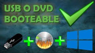 Cómo Grabar Imagen ISO En USB, DVD O CD [Español] [Bien Explicado Y Sencillo] [2016] [HD]