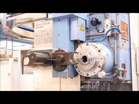 Wytaczarka CNC - CNC boring machine - CNC bohrwerk - KURAKI KBT 11 WDXA - zdjęcie