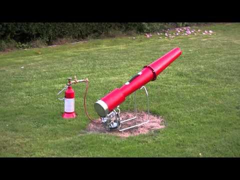 Vogelabwehr / Vogelschreck Kanone Mechanisch mit Piezozünder