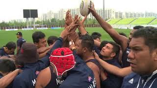 Korea V Malaysia #ARC2018 Week 4 Malaysia Captains Run