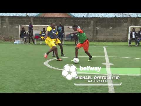 BETWAY 5s League: Skills Of The Week