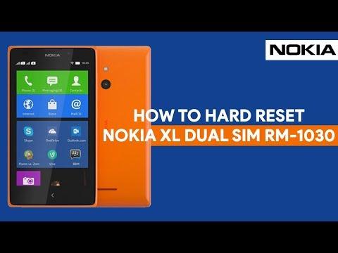 How To Hard Reset Nokia XL Dual SIM RM-1030 - [romshillzz]