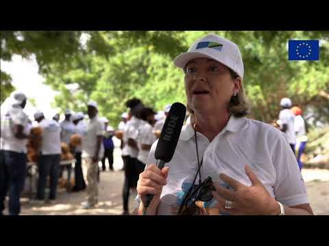 #EUBeachCleanup Day in Tanzania - Ambassador Mary O'Neill