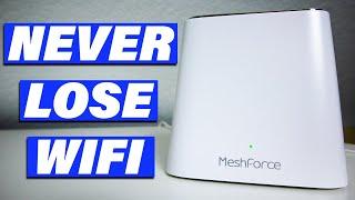 Mesh WiFi Review: MeshForce Whole Home Mesh WiFi System M3 Suite