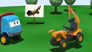 Grävmaskin, kran, dumprar, anläggningsmaskin del 1