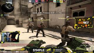 S1mple Plays Faceit 20180621