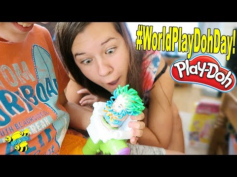 IT'S WORLD PLAY-DOH DAY! LETS CELEBRATE!