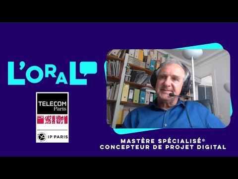 L'oral : MS concepteur de projet digital, création et production multimédia