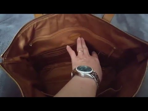 Fossil Sydney Shopper in Camel Color Review