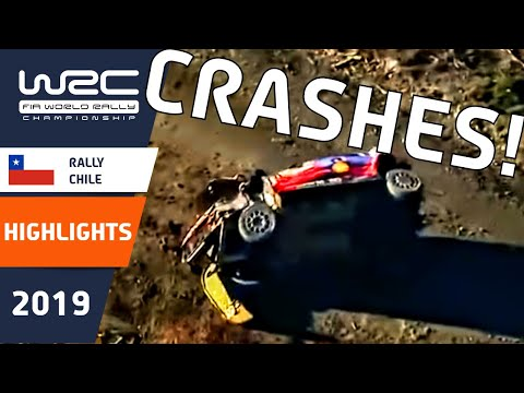 WRC - Copec Rally Chile 2019: Crash Compilation