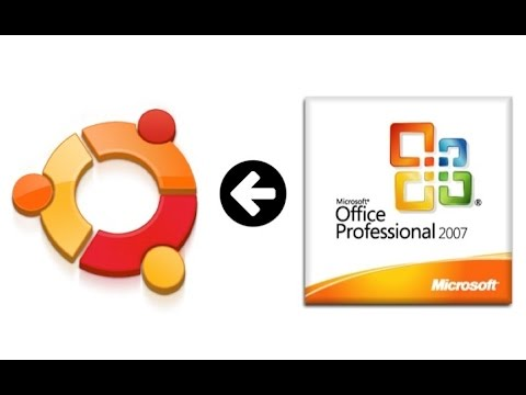 How to install Microsoft Office 2007 in Linux Ubuntu or Mint