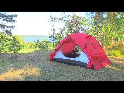Смотреть видео Палатка Talberg Boyard 3 Pro