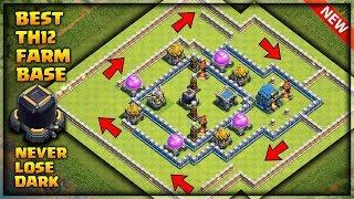town hall 12 farming base 3 inferno - TH-Clip