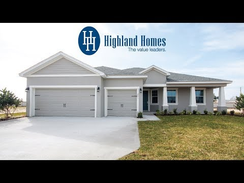 Wakley home plan by Highland Homes - Florida New Homes for Sale