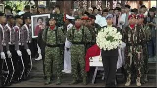 [FULL] Detik-detik Upacara Militer Persemayaman Ibu Ani Yudhoyono