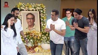 Khan Family: Salman, Arbaaz, Sohail, Alvira Arrives At Ajay Devgan's Father Prayer Meet