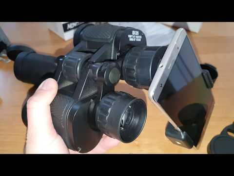 Ein Zoom Objektiv für dein Smartphone?!? 12X50 Lypumso HD Fernglas mit Handy Halterung