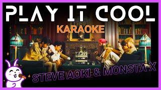 Monsta X Steve Aoki Play It Cool Karaoke
