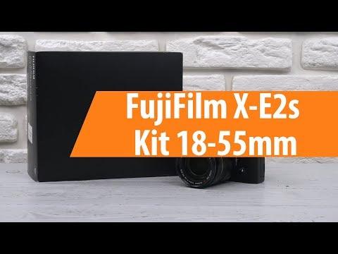 Распаковка FujiFilm X-E2s Kit 18-55mm / Unboxing FujiFilm X-E2s Kit 18-55mm