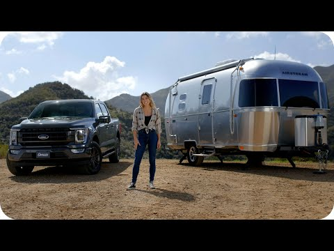 Tour the Airstream Caravel: A Road Tripper's Dream // Omaze