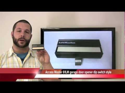 Buy Access Master 61lm Dip Switch Style 390mhz Garage Door Opener