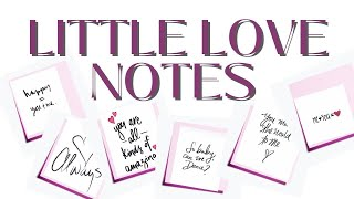 ❤️  I LOVE YOU MESSAGE LOVE NOTES  (FALLING IN LOVE)