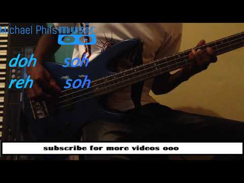 Bass Line for highlife 1-5 progression(doh-soh)