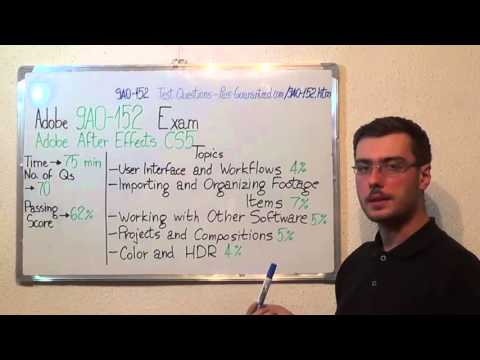 9A0-152 – Adobe Exam After Effects CS5 Test ACE Questions ...