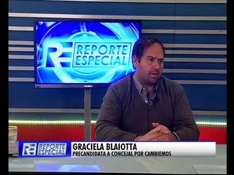 """Graciela Blaiotta: """"Se puso a la ciudad de pie"""""""