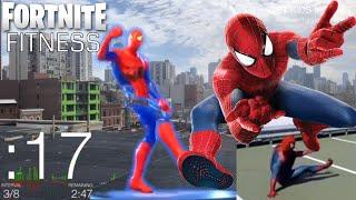 [FORTNITE FITNESS] Spiderman Dance Workout ft. Glenn Higgins