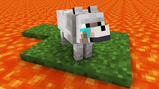 Wolf Pups Life: Digging a Pit -- Cubic Minecraft Animation