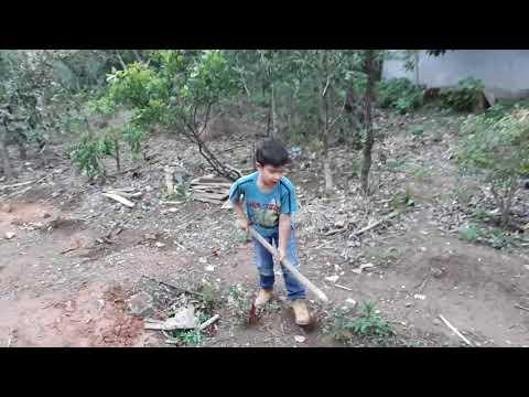 Brincadeira de criança em Goiás é assim Alto Paraíso de Goias