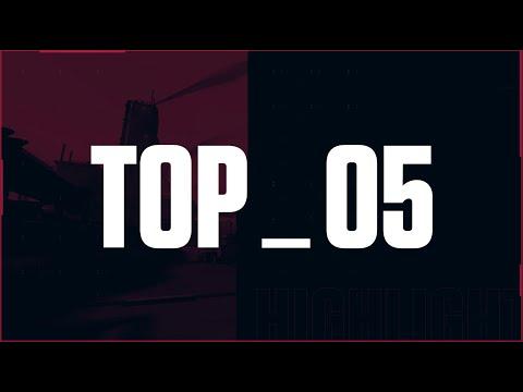 《特戰英豪》2021 校際盃 第二季 Week 1 Top5