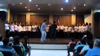 preview picture of video 'SEMINARIO TALLER MUSICAL - CORO POLIFONICO DE VILLARRICA - NO HAY MAS QUE HOY'