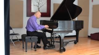 "Jordan E. Spivack's live performance of ""Cherry Blossoms"" 6-8-14"