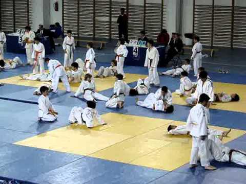 calentamiento judo