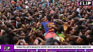 SHINA PELLER TAKES MR REAL TO HIS DECLARATION IN ISEYIN