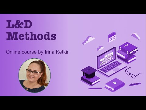 Learning and Development Methods - online course on Udemy ...