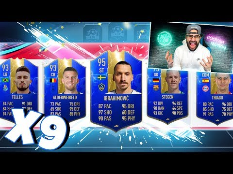 YES! MOST TOTS IN A FUT DRAFT! FIFA 19 Ultimate Team Draft Challenge