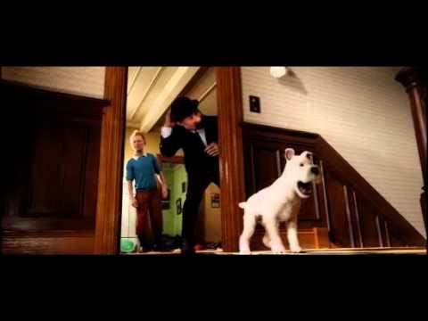 Tintinova dobrodružství - česky dabovaný trailer